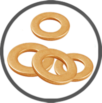 Brass Pressed Punched Plain Washers