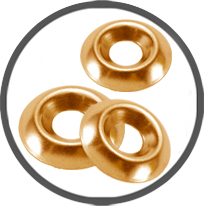 Cup Washers Brass